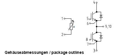 ff400r06me3电路图