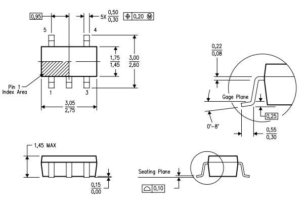 tlv431aidbvr低电压可调节精密并联稳压器