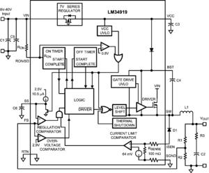 buck switch regulator