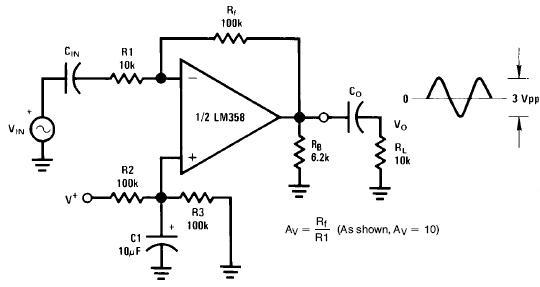 ic系列-运算放大器电路