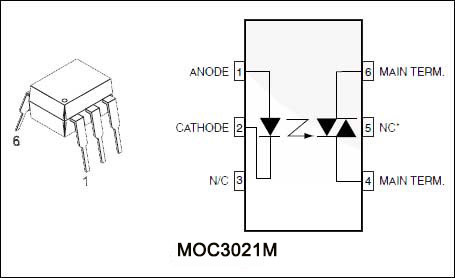 moc3021 moc3021m dip封装仙童光耦 价格好