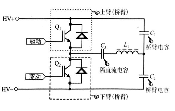 图2  半桥电路简图