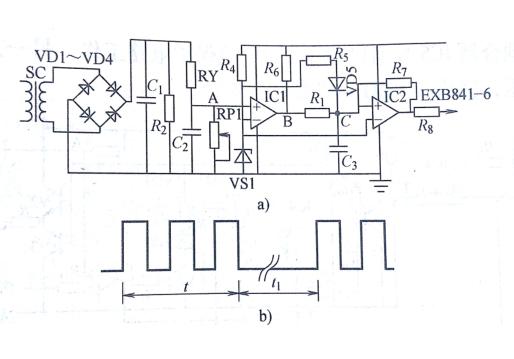 利用电流传感器进行过电流检测的igbt保护电路