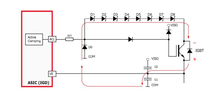 igbt的续流二极管的正向恢复效应对驱动器产生的影响