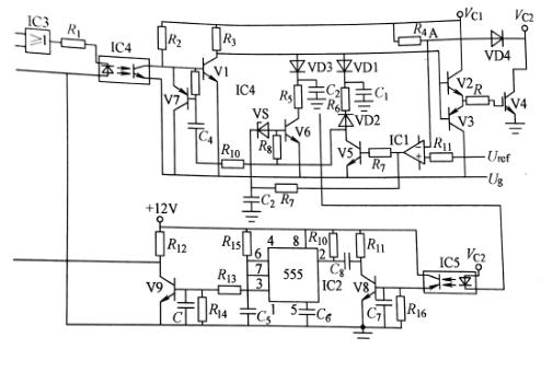 检测igbt集电极电压的过电流保护电路