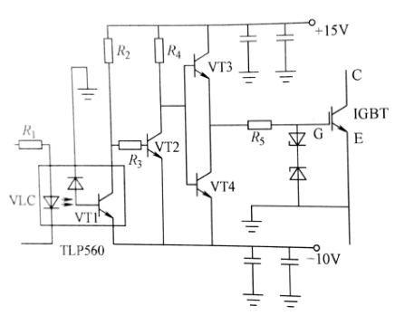 由于tlp250不具备过电流保护功能