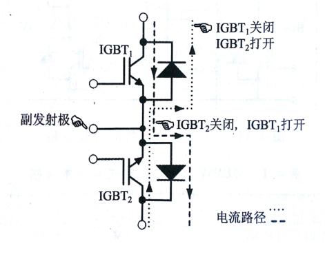双单向开关和单向开关模块的内部等效电路图