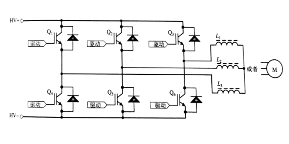 图4 三相桥电路简图