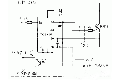 igbt驱动电路设计原理 接线图