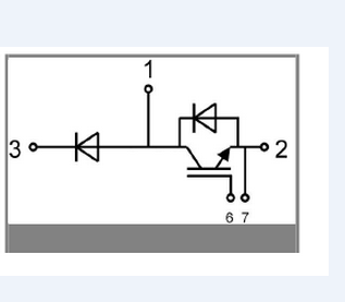 赛米控skm195gal066d等效电路图