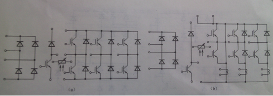 图l-5(a)一图l-5(d)中的 三相整流桥由整流二极管组成,图l-5(e)和图l