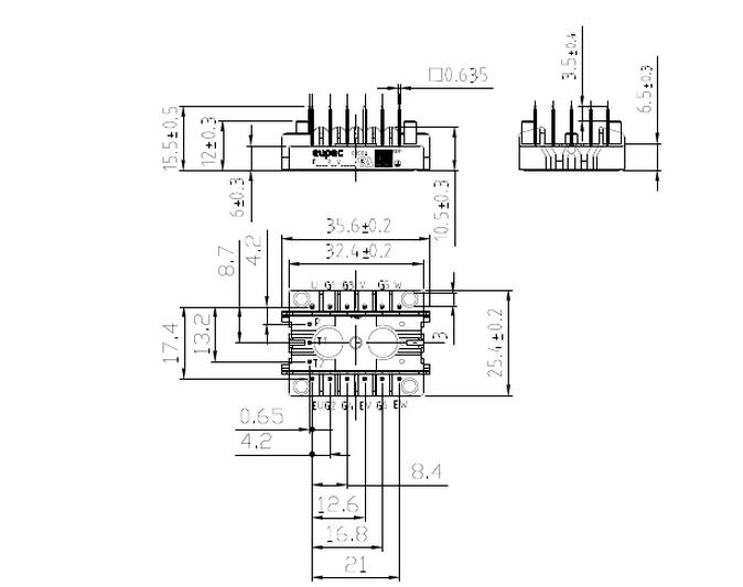 开关机械结构图