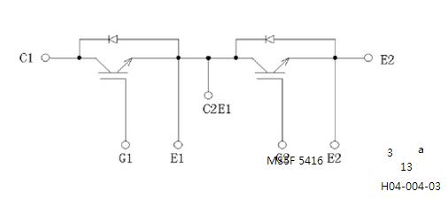 2mbi300uc-120等效电路图