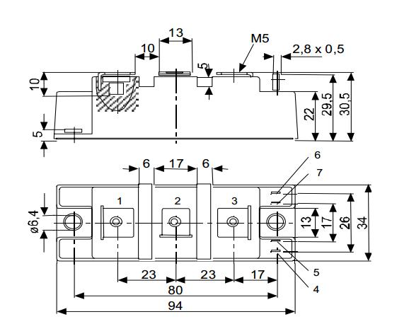 igbt模块,一般用在全桥或者半桥电路中作为一个桥臂