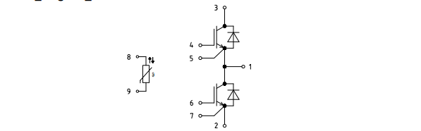 ff100r12yt3等效电路图: 绝缘测试电压 isolationtestvoltage rms