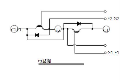 三菱cm100du-24h 等效电路图