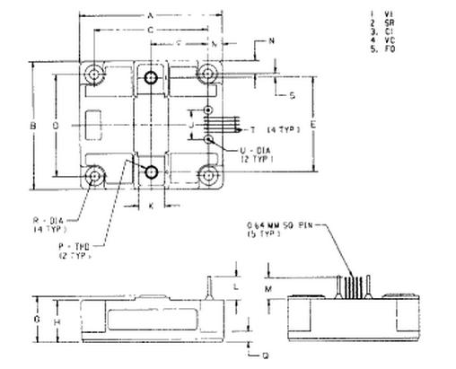 三菱pm300hha120等效电路连接图
