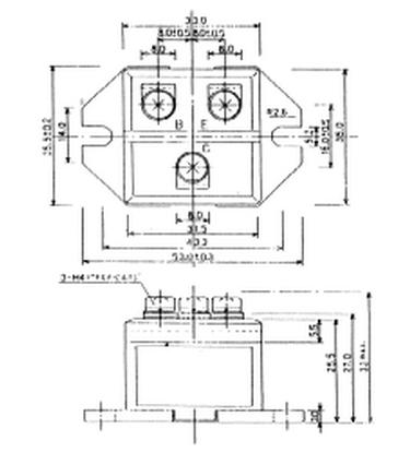 富士1mbi30l-060将功率器件,控制用的集成电路,或再加上脉宽调制